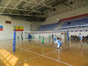 Первенство по волейболу среди юношей 8 апреля 2017г.