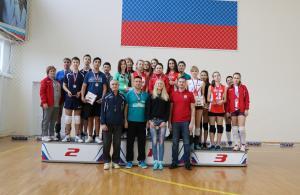 Рождественский турнир по волейболу 8 января 2018г.