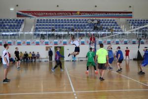 Открытое первенство ДЮСШ «Флагман» по волейболу среди юношей 2003 г.р. и старше, посвященное «Дню защитника Отечества».